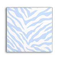 Zebra Pattern Envelope-Square Envelope