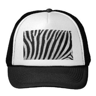 Zebra Pattern Cap