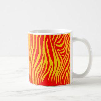 Zebra Pattern in Color Coffee Mug