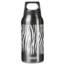 Zebra Pattern Insulated Water Bottle