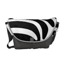 ZEBRA Pattern Messenger Bag