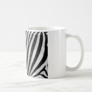 Zebra Pattern Basic White Mug