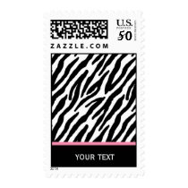 Zebra Pattern Postage