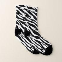 Zebra Pattern Socks