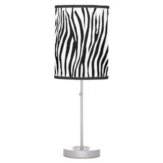 Zebra Pattern Table Lamp