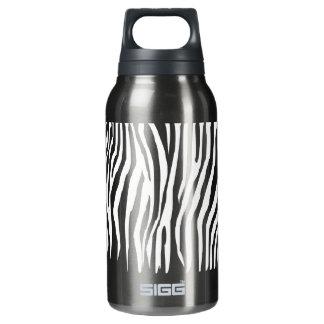 Zebra Pattern Thermos Water Bottle