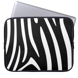 Zebra Patterns Laptop Sleeve
