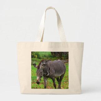 Zebra Photo Tote Bags