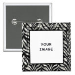 Zebra Photo Frame Button