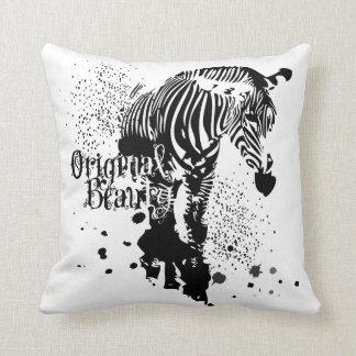 Zebra Pillow -Original Beauty