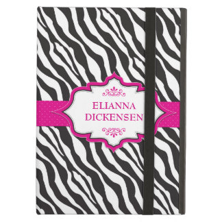 Zebra Pink Ribbon iPad Case