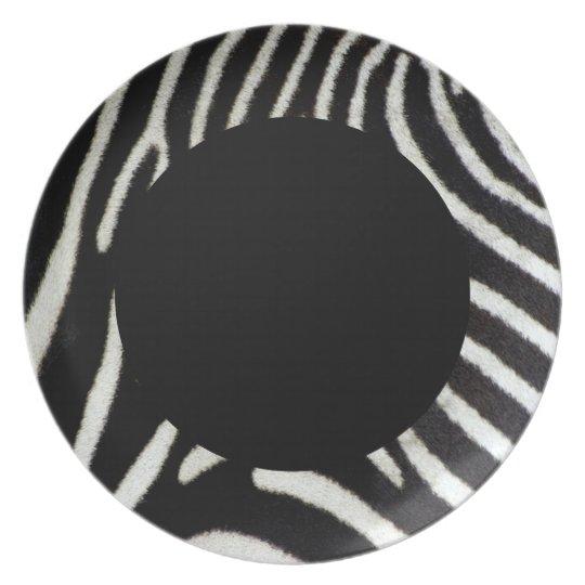 Zebra Plate