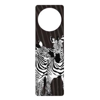 Zebra Play Door Knob Hanger