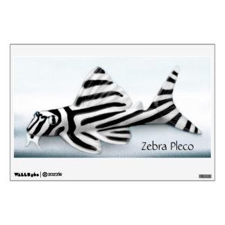 Zebra Pleco Aquarium Fish Wall Decal