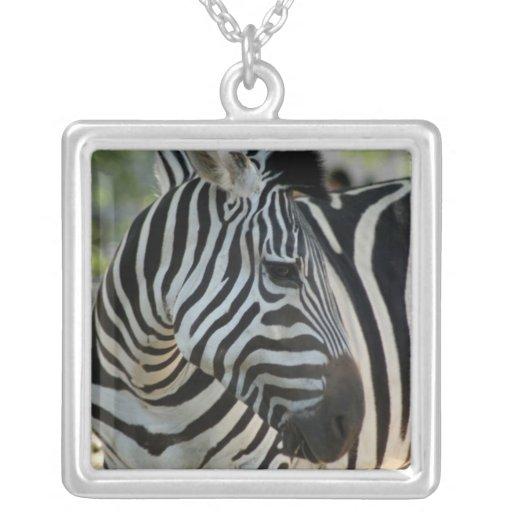 Zebra Pose Necklace