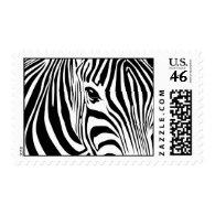 Zebra postage