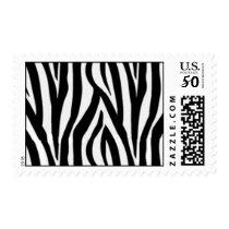 Zebra Postage Stamps