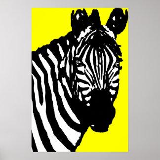 zebra. poster