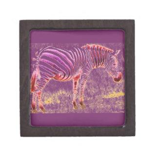 zebra premium jewelry box