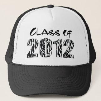 ZEBRA PRINT 2012 TRUCKER HAT