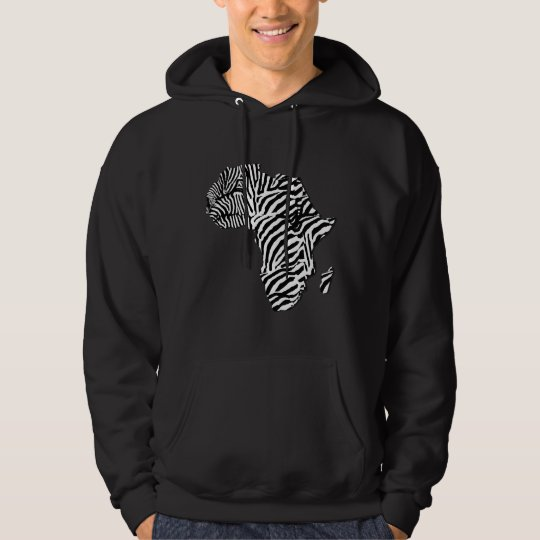 africa map hoodie