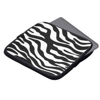 zebra print animal pattern cheetah leopard laptop sleeve