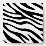 Zebra Print Birthday Envelopes