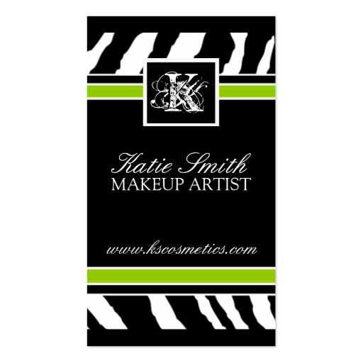 Exotic business card templates page4 bizcardstudio zebra print business card reheart Images