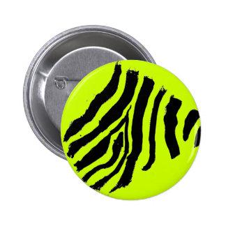 Zebra Print button (NEON Yellow)