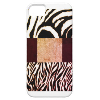 Zebra print by April DeeS iPhone 5 Cases