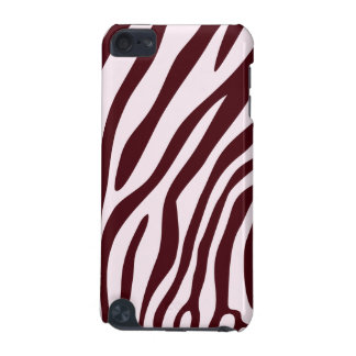 Zebra Print Case, red iPod Touch 5G Cover