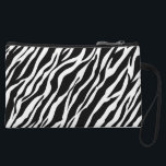 "Zebra Print Clutch Purse<br><div class=""desc"">A large purse or a tote is handy when you have a lot of stuff to carry, but you might prefer something smaller and sleeker for nights out on the town or for a quick trip to the store. A clutch purse is the perfect size to hold essential items such...</div>"