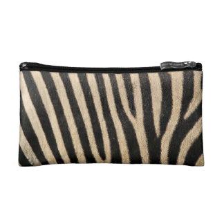 Zebra Print Cosmetic Bag