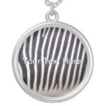 Zebra Print Custom Necklace