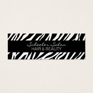 Zebra Print - Custom Skinny Business Card