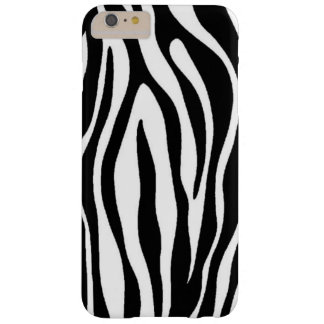 Zebra Print Design Barely There iPhone 6 Plus Case