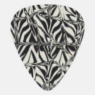 Zebra Print Guitar Pick
