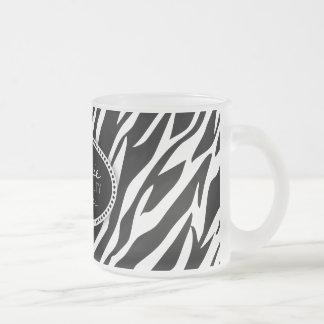 Zebra Print Hair & Beauty (Custom) Mug
