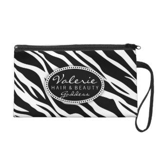 Zebra Print Hair Salon or Stylist (Custom) Bag