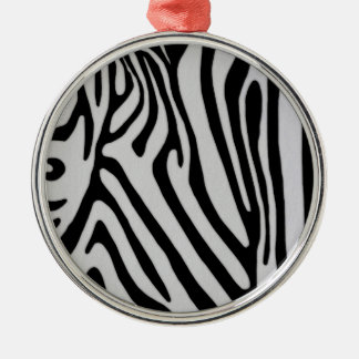 Zebra Print Holiday Ornaments