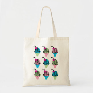 Zebra Print Ice Cream Bag