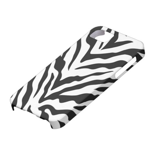 Zebra Print iPhone 5 Case