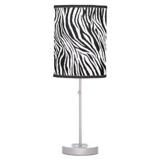 Zebra Print Table & Pendant Lamps | Zazzle