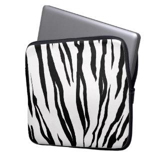 "Zebra Print Laptop Sleeve 13"""