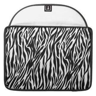 """Zebra Print - Mac Book Air 15"""" Sleeve For MacBooks"""