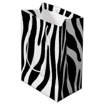 Zebra Print Medium Gift Bag