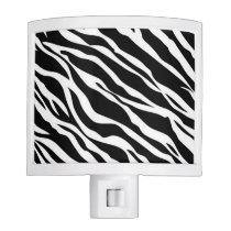 Zebra Print Night Light