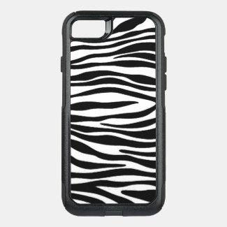 Zebra Print OtterBox Commuter iPhone 8/7 Case