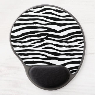 Zebra Print Pattern Gel Mouse Pad