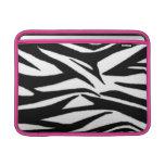 Zebra Print & Pink Macbook Air Sleeve